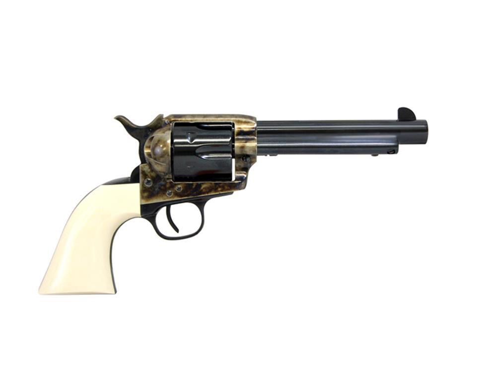 Taylor's & Co Taylor & Company Smokewagon 5.5In .357Mag CCH Blued barrel And Cylinder Simulated Ivory 6 Shot
