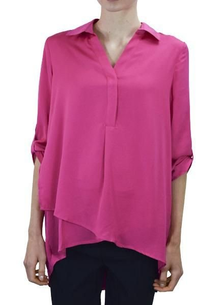 Renuar Renuar's Soft And Beautiful Blouse In Azalea