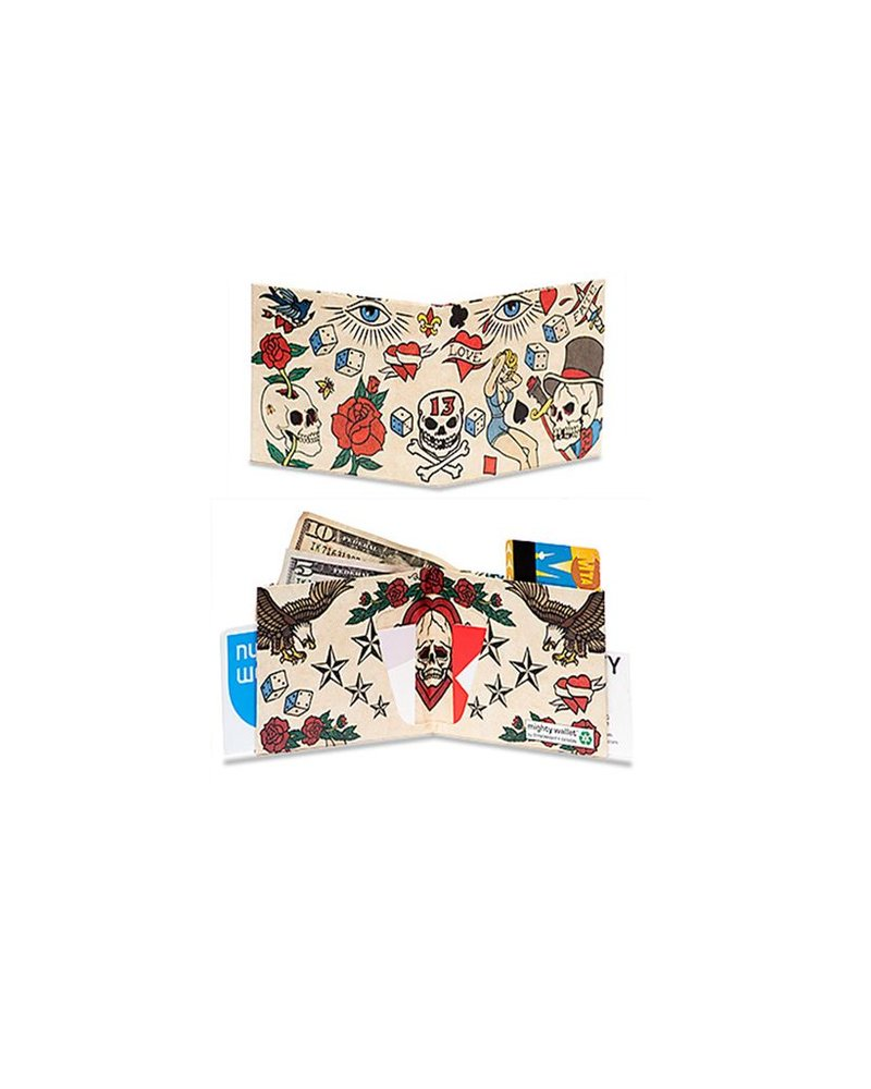 Dynomighty Tattoo Mighty Wallet