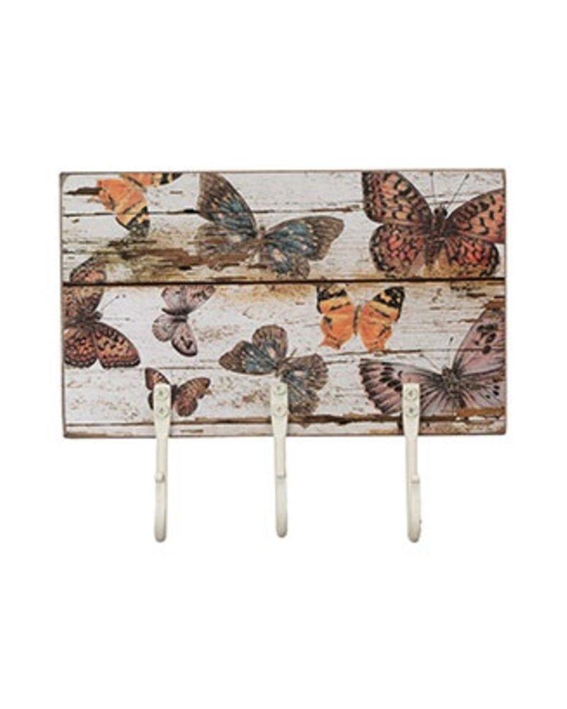 Hook Board With Butterflies
