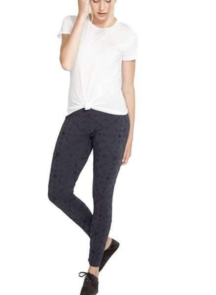 Johnny Was Johnny Was Compass Stretch Leggings In Sanded Black