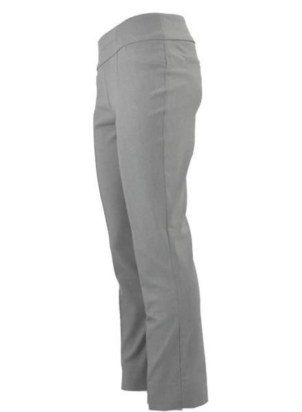 Renuar The Long Ankle Pant In Heather Silver