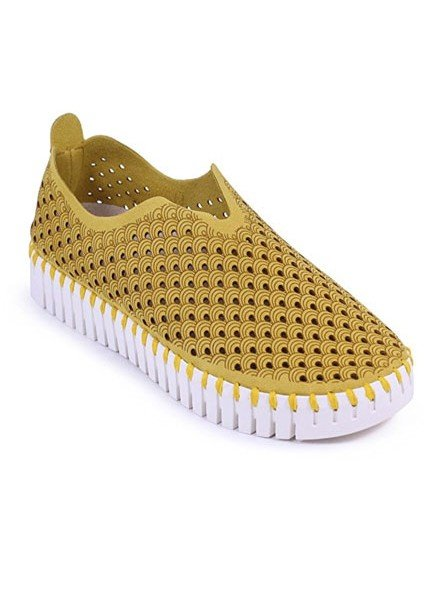 Ilse Jacobsen Tulip Shoe In Golden Rod