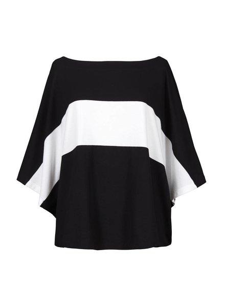 Alembika Alembika Bold White Stripe Top