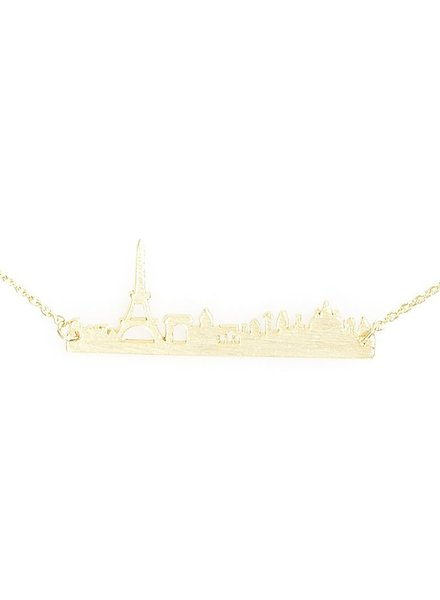 Be My Skyline of Paris Necklace