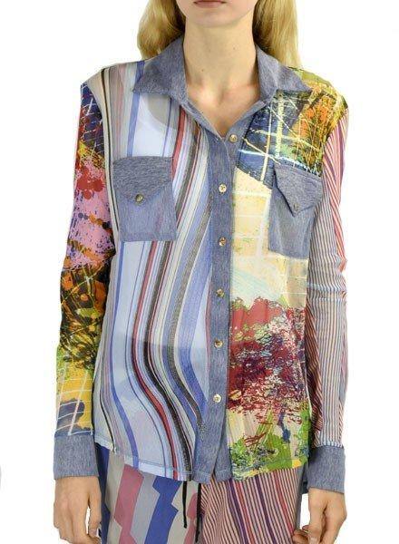 Petit Pois' Combo Button Front Shirt