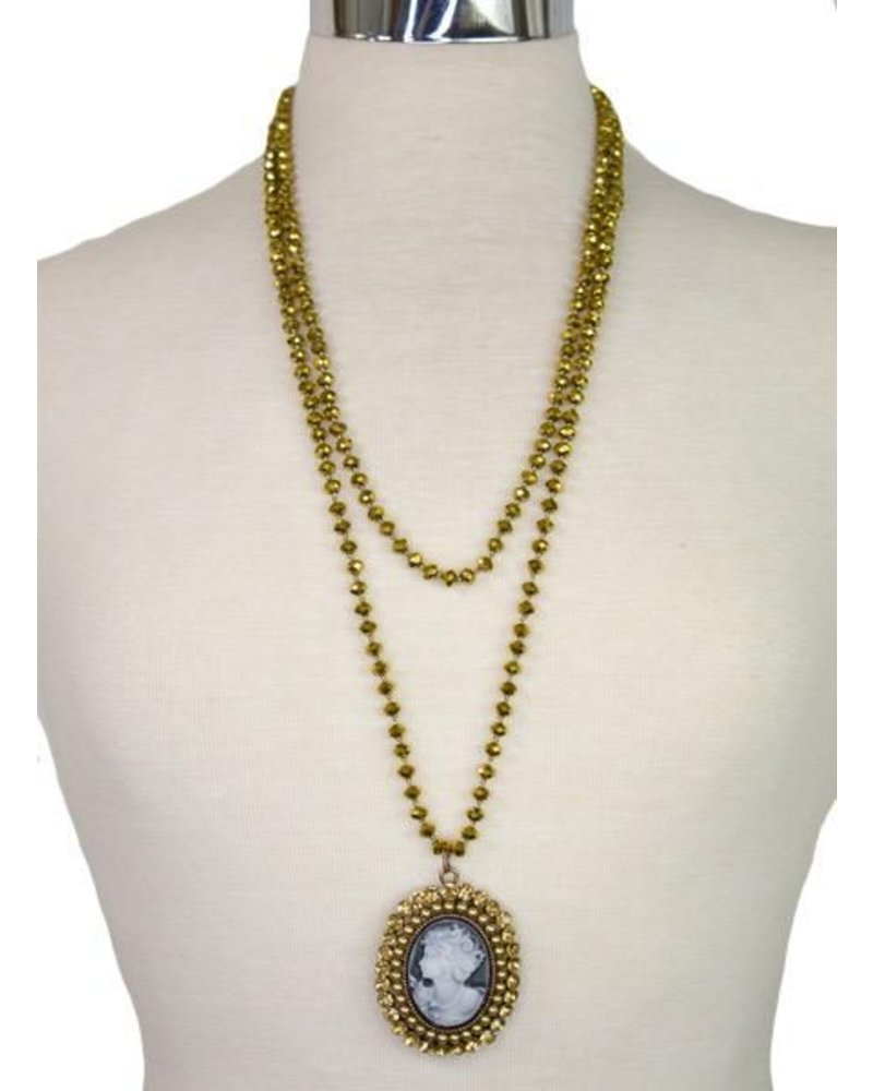 The Long Collection - Gold Cameo