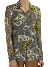 Petit Pois Classic Shirt In Tarot Print