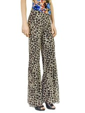 Petit Pois Bootleg Pant In Leopard