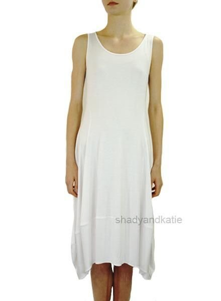 Comfy's Lisa Dress In White