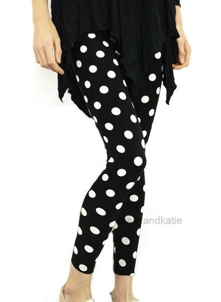 Comfy's Sun Kim Big Dot Leggings