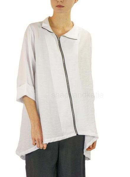 Comfy's Anna Jacket In White