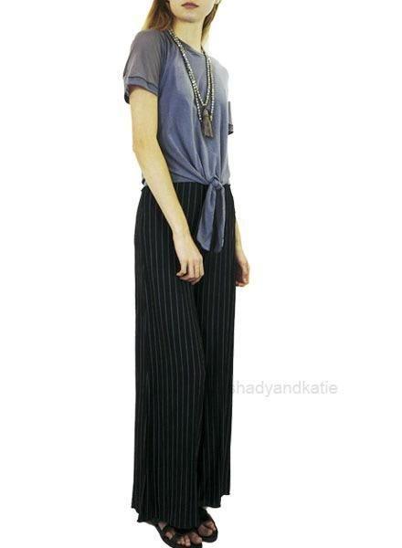 Petit Pois Pinstripe Pants