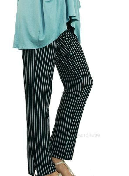 Comfy Narrow Pants In Jade