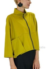 Comfy's Jason Diane Jacket In Chartreuse