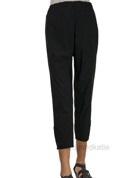 Comfy's Jason Stevie Ankle Pants In Black