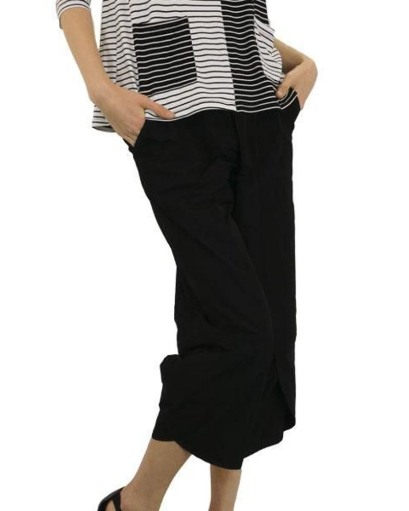 63f925685f8 Comfy USA Sun Kim Monet Pants In Black - Shady And Katie - Shady and Katie