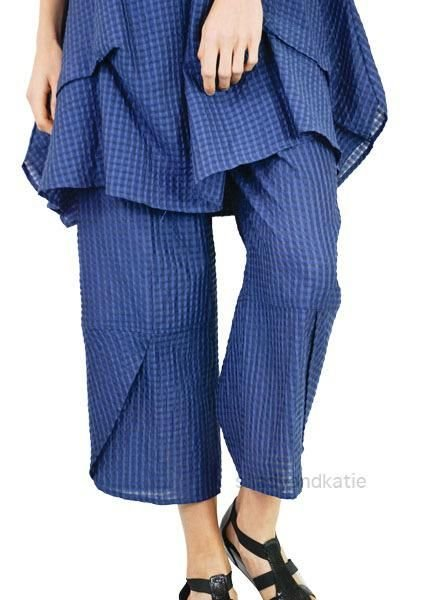 Comfy's Jason Taffy Ankle Pants In Blue