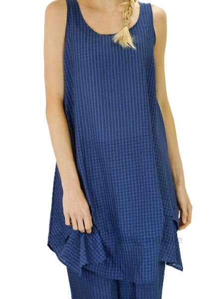 Comfy's Jason Linda Dress In Blue