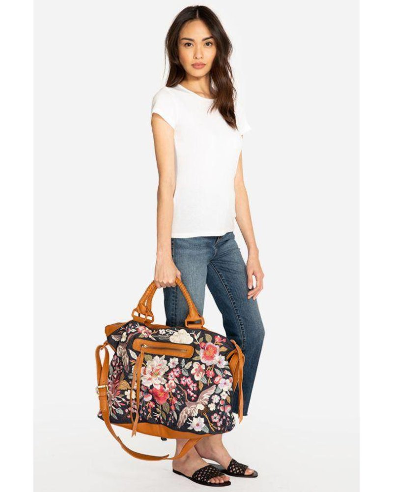 Johnny Was Johnny Was Hisako Overnight Tote In Denim