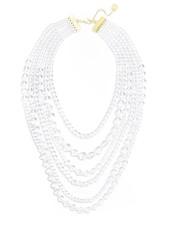 Lavish Lucite Long Necklace