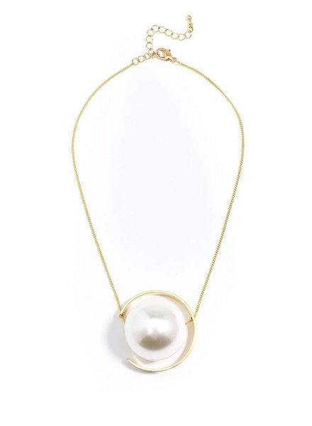 Pearl Bound Necklace