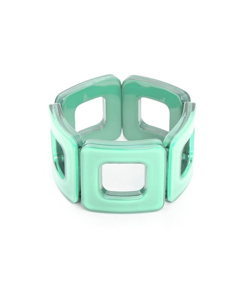 My Modern Stretch Bracelet in Mint