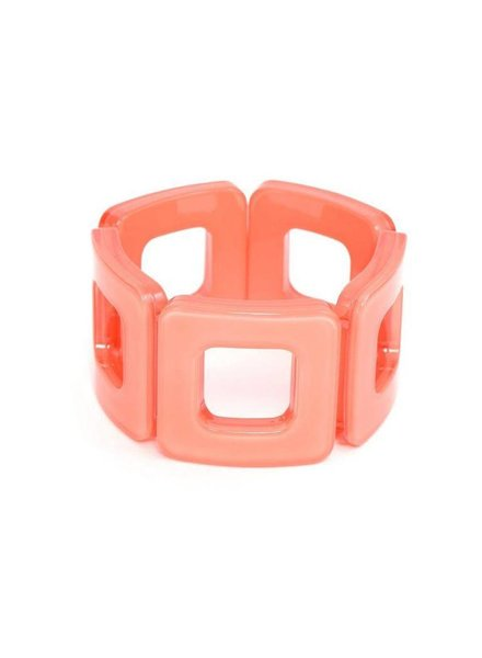 My Modern Stretch Bracelet In Coral