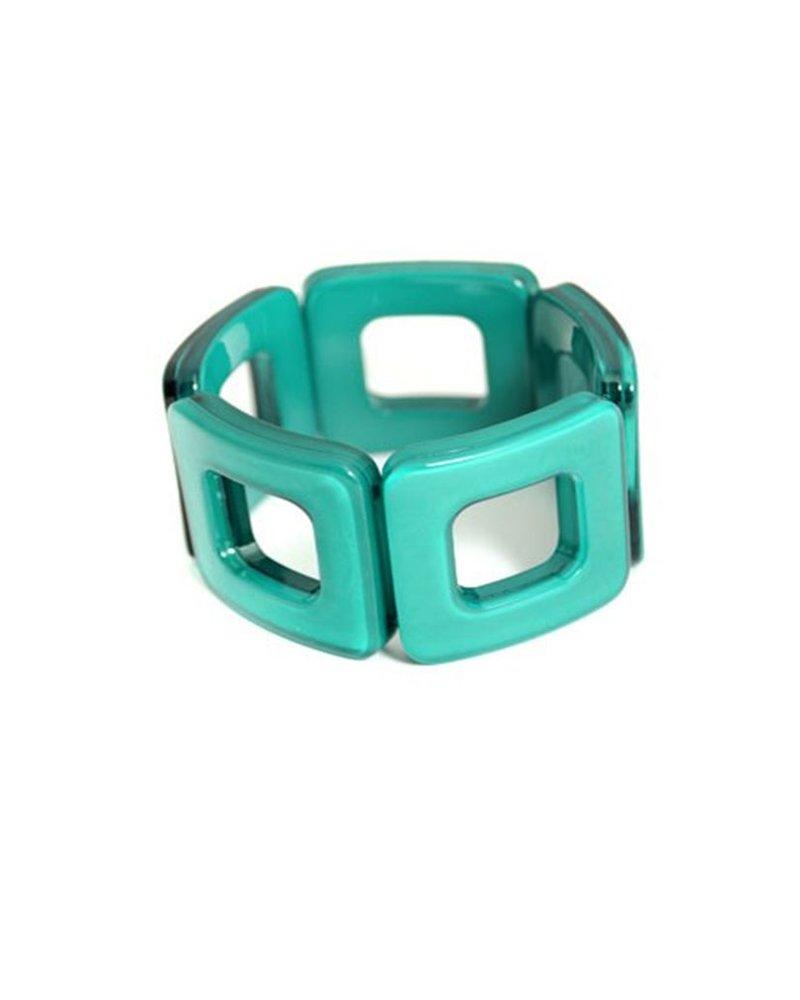 My Modern Bracelet In Deep Green