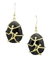 My Arms Are Around You Earrings In Black