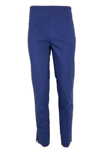 Renuar Renuar Ankle Cigarette Magic Pant In Prussian Blue
