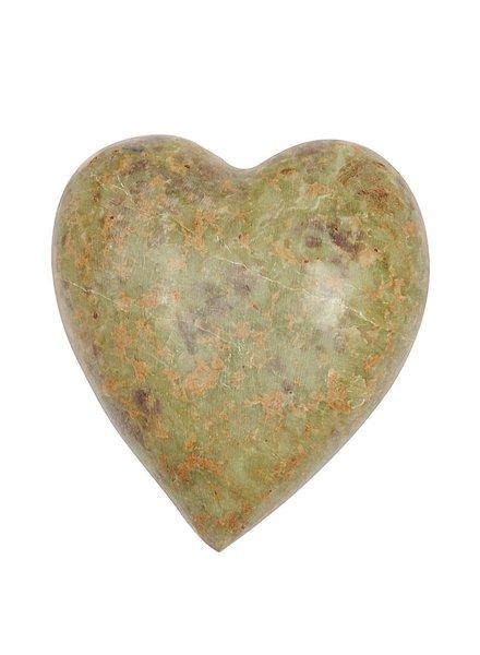 """2-3/4""""  Soapstoen Decorative Heart"""