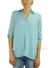 Renuar Renuar's Soft And Beautiful Blouse In Light Aqua