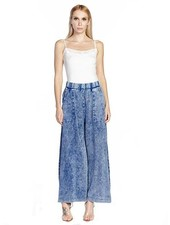 Aratta Aratta's She Does Not Care Pant In Denim Wash