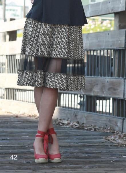 Effie's Heart Effie's Heart Delphine Skirt In Sirens