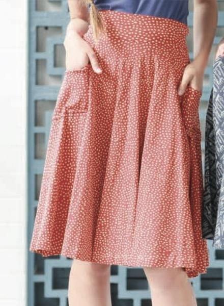 Effie's Heart Effie's Heart Sojourn Skirt In Drifting