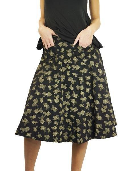 Effie's Heart Effie's Heart Picnic Skirt In Koi