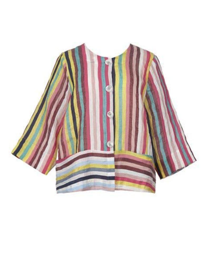 Alembika Alembika's Button Up Jacket In Lolipop