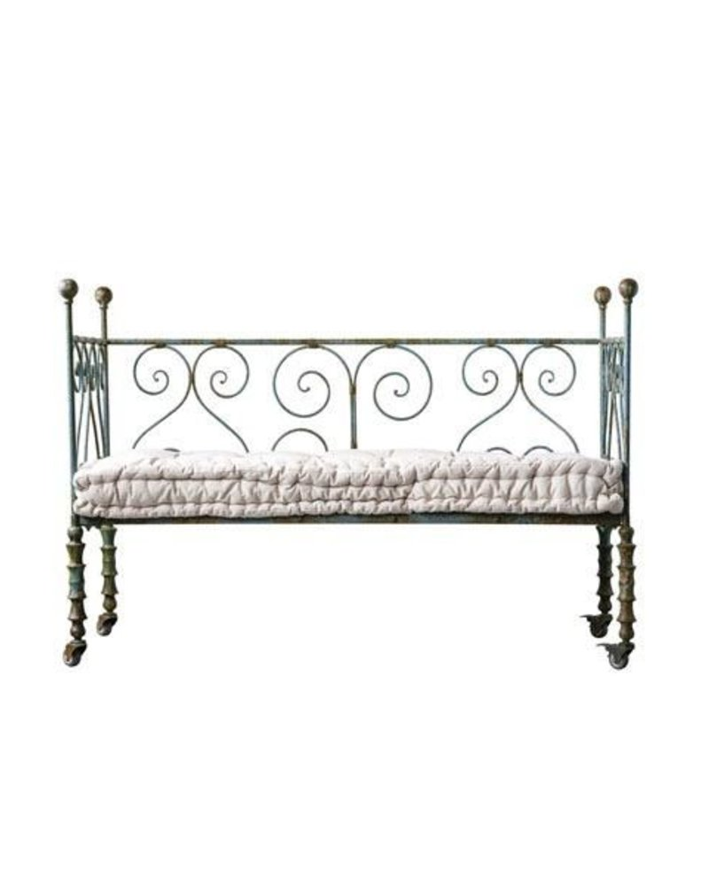 Metal Scroll Daybed