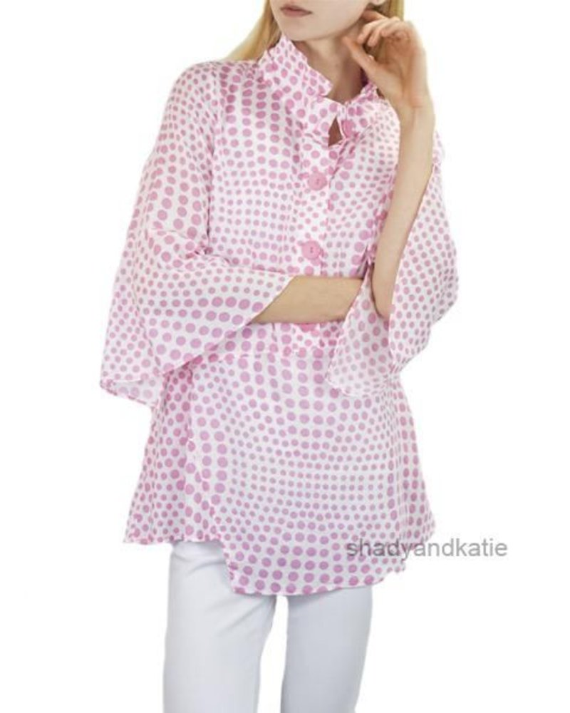 My Dotty Top In Pink