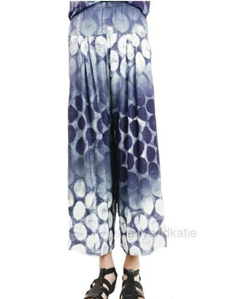 Alembika Alembika Wide Leg Pant In Space Print