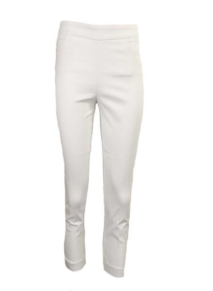 Renuar Magic Capri Pant In White