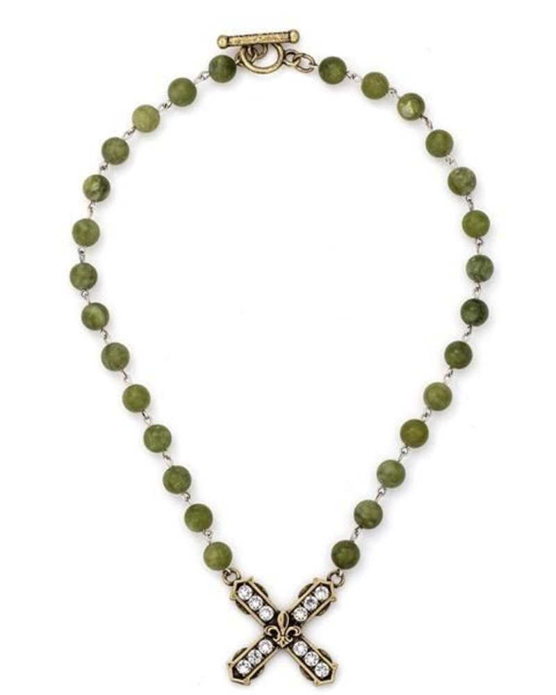 French Kande French Kande Jade French Kiss Pendant