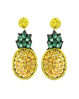 Bling Bling Pineapple Earrings