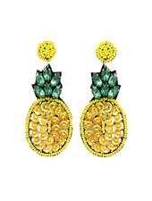 Bling Bling Pineapple Earrings