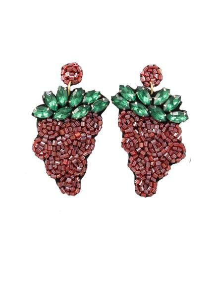 Love The Grape Earrings