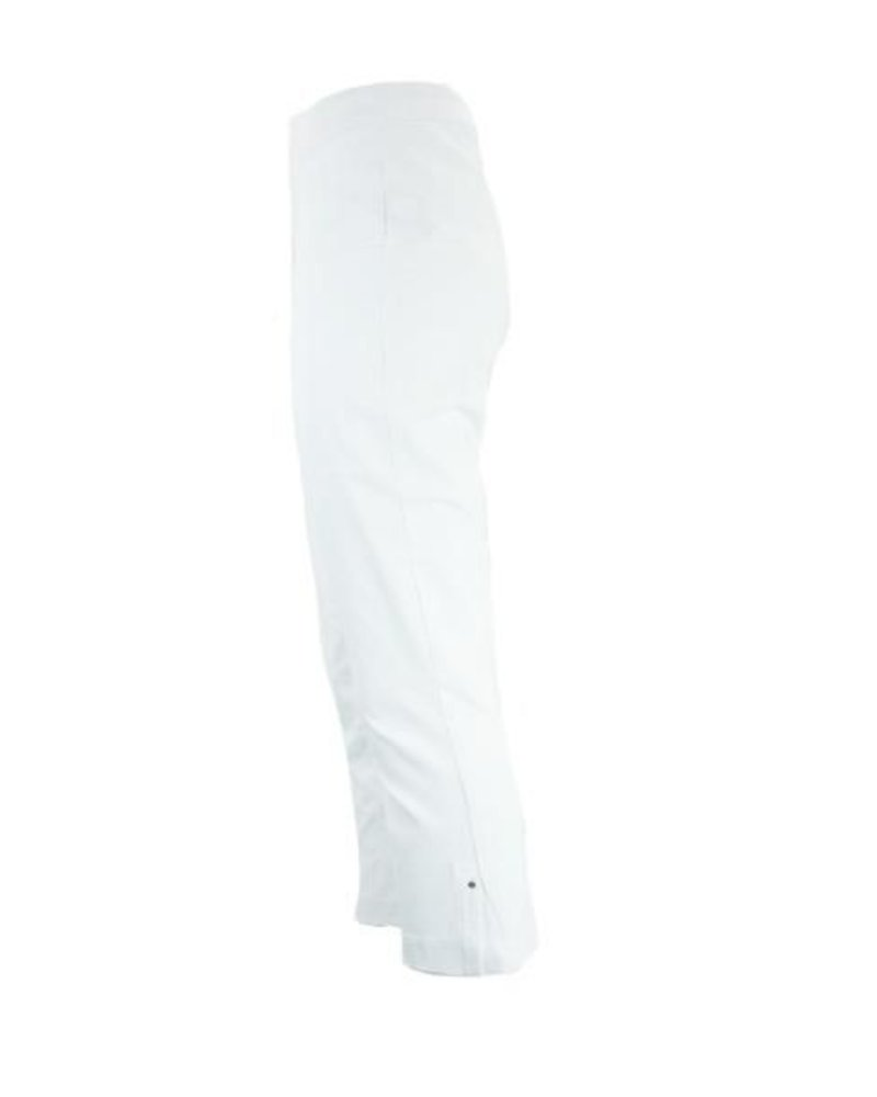 Renuar Renuar's Side Vent Capri In White