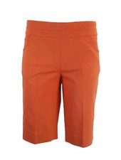 Renuar Renuar Magic Bermuda Shorts In Hot Coral