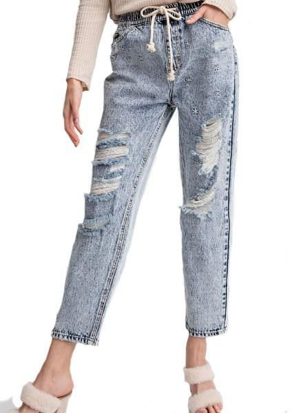 Retro Star Denim Pant