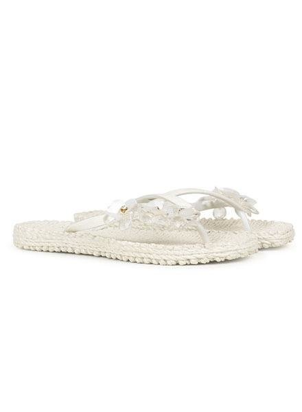 Ilse Jacobsen Ilse Jacobsen Cheerful Floral Flip Flops In White